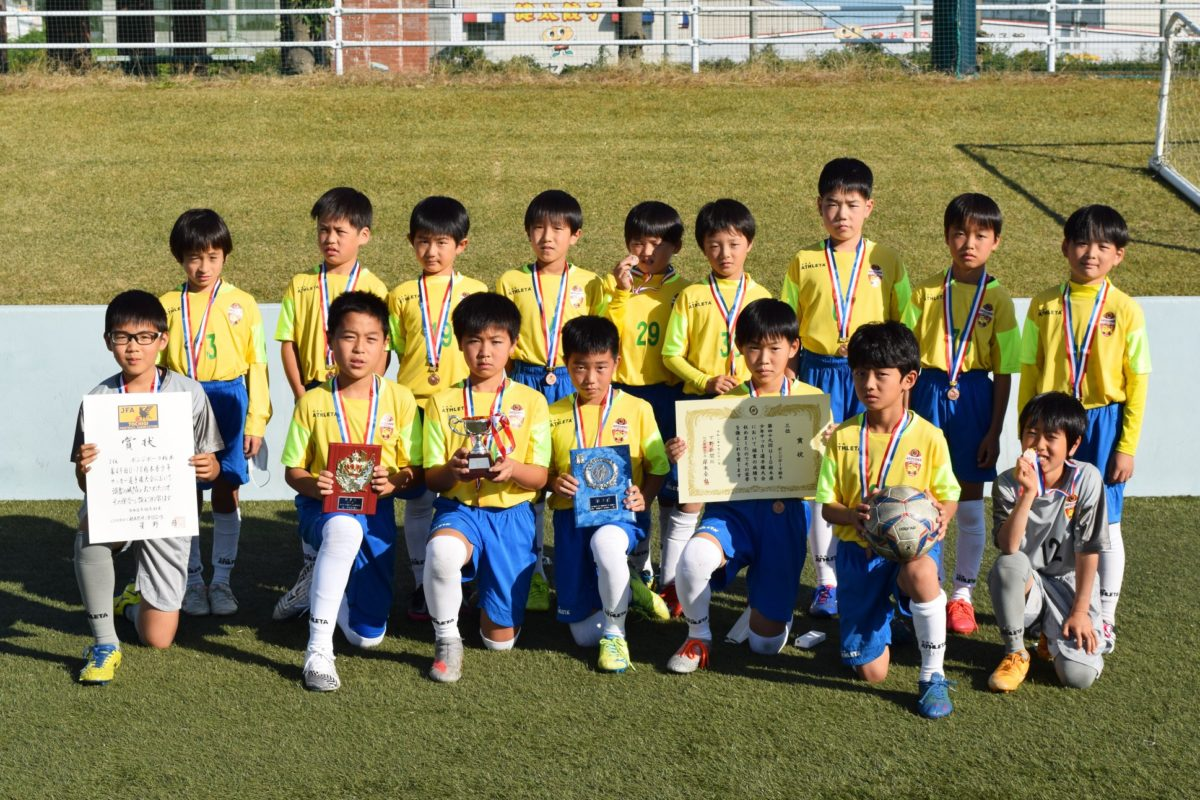 JFA第49回 U-10栃木県少年サッカー選手権大会☆第3位☆